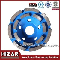 Diamond Double row grinding wheel for glass cutting wheel