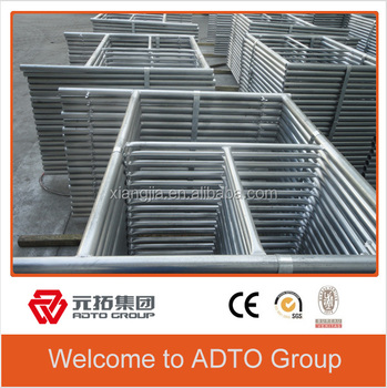 Factory price and Durable HDG/Painted scaffolding frame for building
