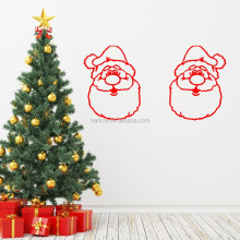 Santa Claus newest Wall Stickers New Year Christmas wall decals Diy window waterproof removable stickers