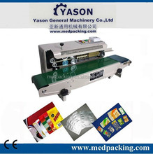 Continuous plastic bag heat sealer plastic film sealer FR-900