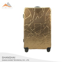 Telescopic Handle Travel Luggage Bag With