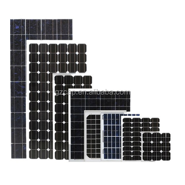 custom made solar panel 100w 150w 200w 250w 300w 18v 36v with CE certification factory direct
