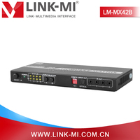 LM-MX42B HDMI 4 to 2 HD TV Video Audio Matrix Switcher with ESD function