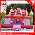 Cheap playground inflatable double lane slides for sale inflatable used slide for kids