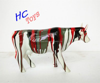 Resin Cattle Handicraft, Polyresin Cow Item, Resin Cow Collection