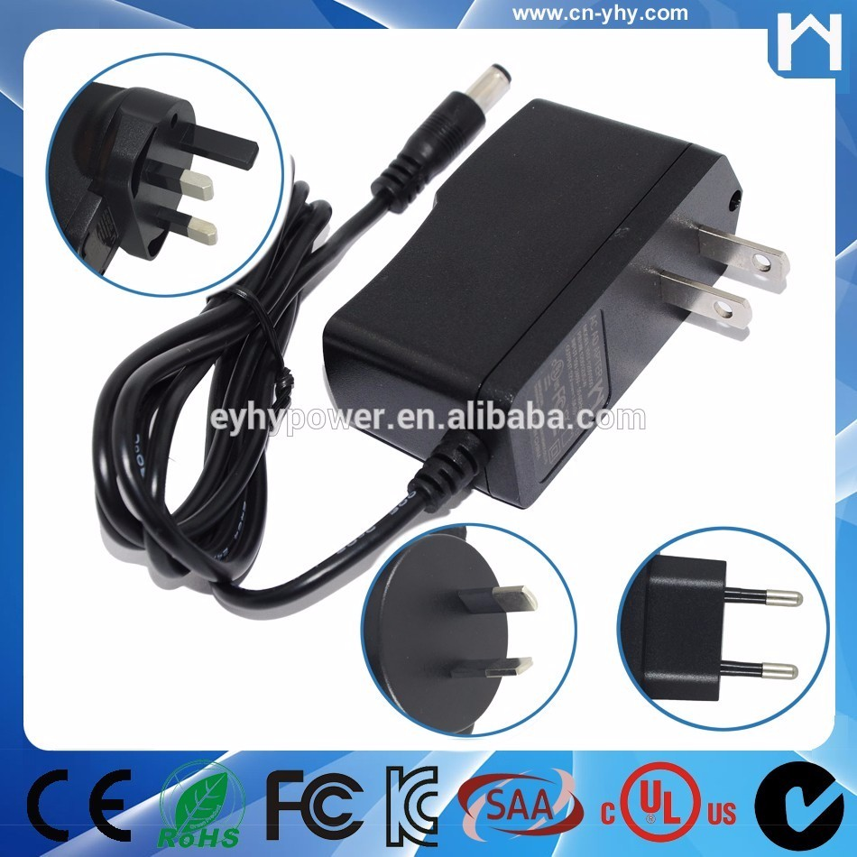 12W power adapter input 220V output 12volt 1A ac to dc power supply