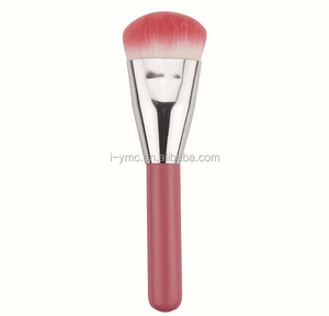 cute pink make up contour brush,creat your own brand brush tools