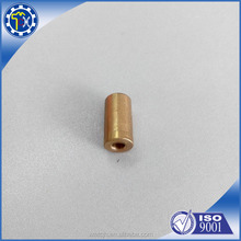 Hot sale Chinese manufacturing stainless steel metal mini CNC brass bushing parts for car
