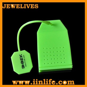 China supplier promotion gift ideas silicone tea bag infuser