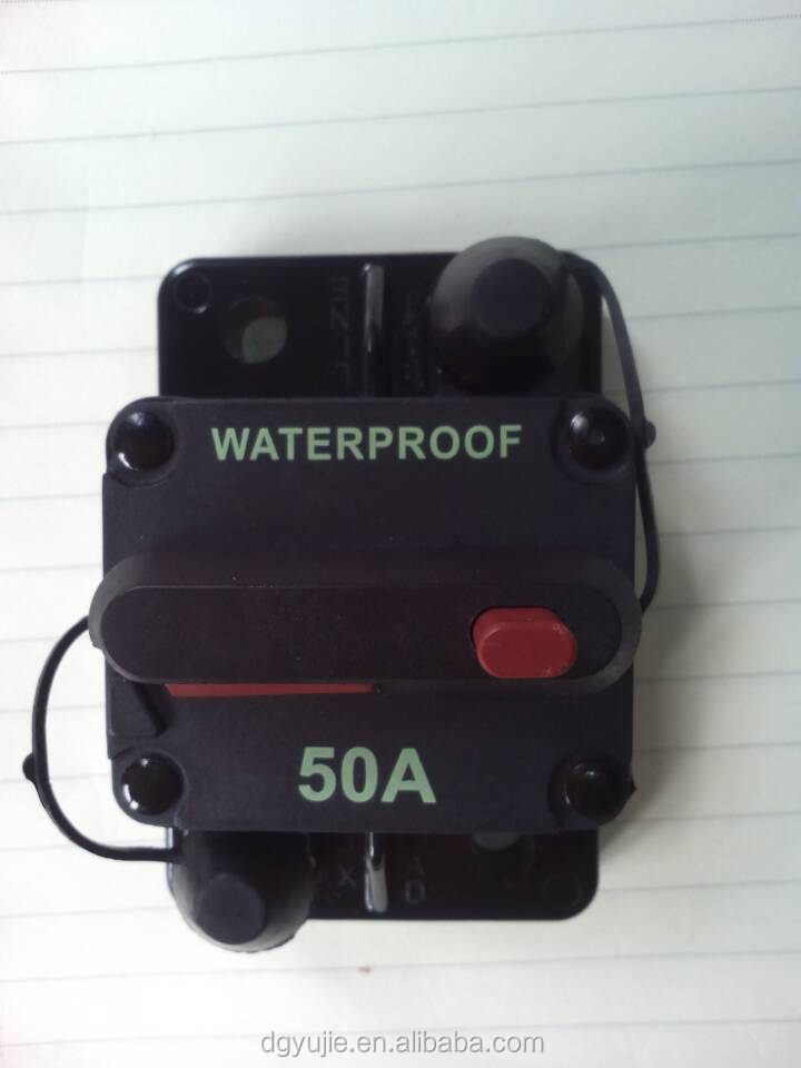 Waterproof Marine Circuit Breaker 50 Amp Boat