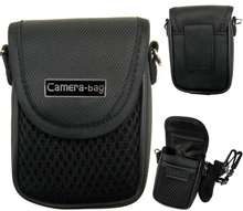 Black Universal Soft Compact Digital Camera Case Bag Pouch