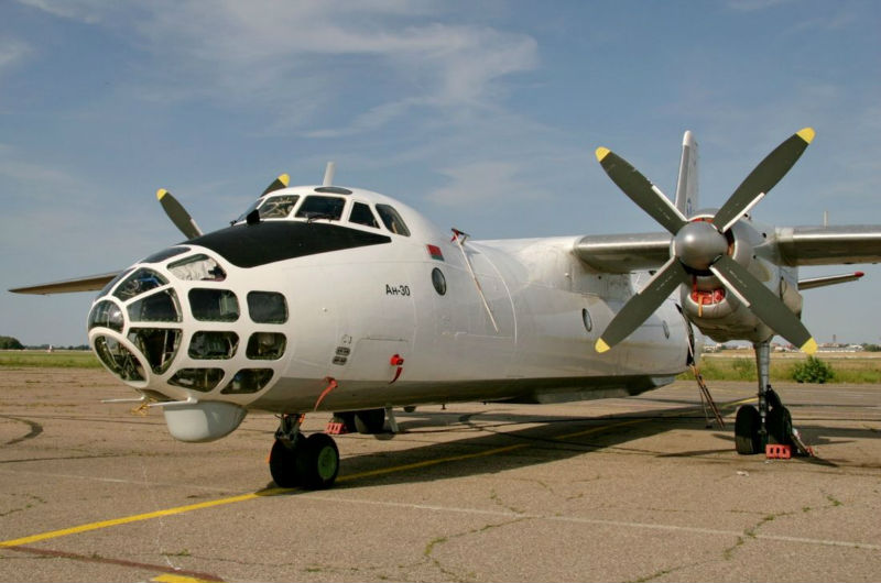 AN-30 freighter cargo aircraft for ACMI or charter flights
