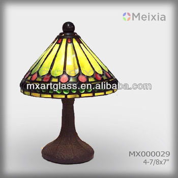 MX000029 wholesale stained glass tiffany table lamps shade tiffany lamp
