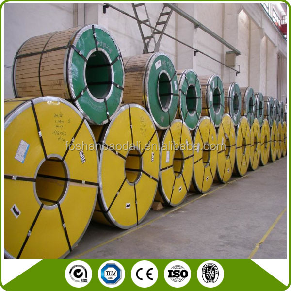 AISI 304 BA/2B Surface Stainless Steel Coil/Roll/Strip with PVC Film