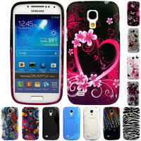 Silicone TPU Gel Bumper Case Cover Sleeve Skin For Samsung Galaxy S4 Mini i9190