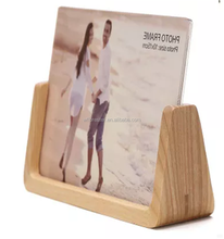 hot sale handmade creative wooden picture table frame stand