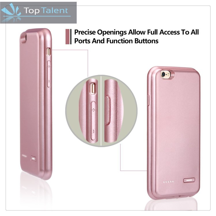 4000 mah Mobile Phone Case Charger For Iphone 5, Backup Battery Charger