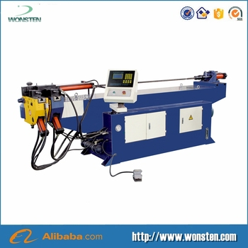 Semi Auto hydraulic high quality bottom price factory mandrel pipe tube bending machine