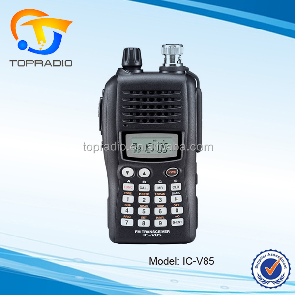 IC-V85 VHF FM Transceiver 136-174MHz Handy Radio 7 Watts Walkie Talkie
