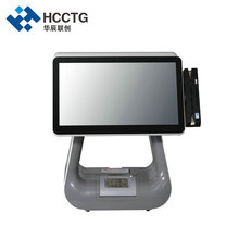 15.6 inch Dual Screen All in one Touch Retail Windows POS System with Customer Display HKS10-DW