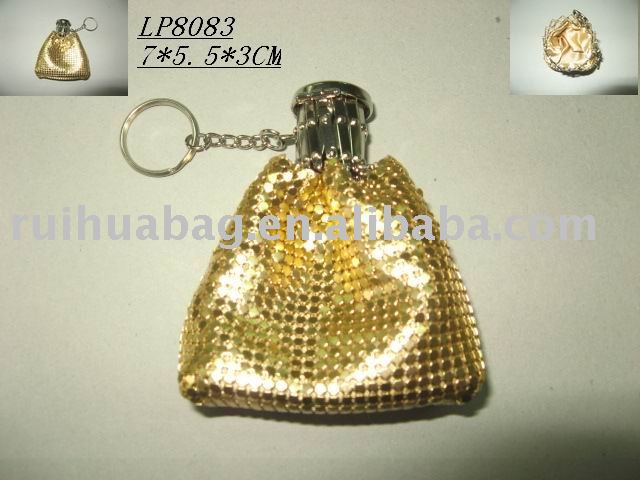 cute metal mesh coin purse