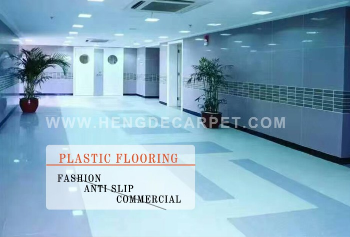 commercial waterproof plastic 3d vinyl flooring tiles for kindergarten