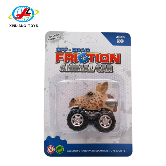 Xinliang toys animal empire hand-<strong>painted</strong> <strong>friction</strong> animal car toys