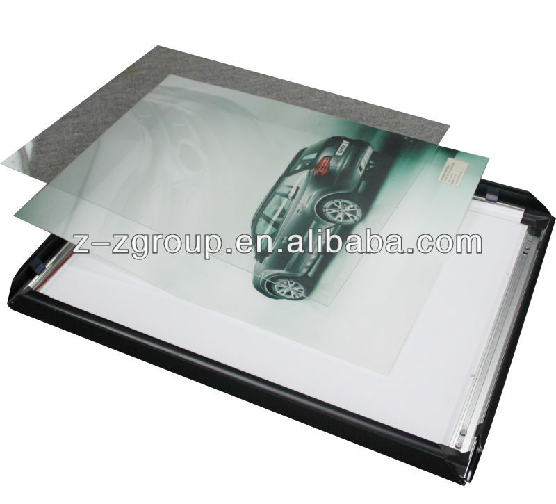 Super Ultra Thin Led Aluminum Slim Light Box/big size, 28mm thick, double side/your ideal advertising light box
