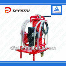 Filtration Units with different oil flow rates for different types of pump