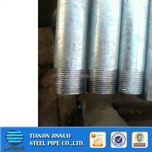 Tubo galvanizado supply carbon steel welded galvanized pipe