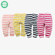 Hot Sale New Arrival Striped Printed Baby Pants Cotton Cartoon Baby P P Pants