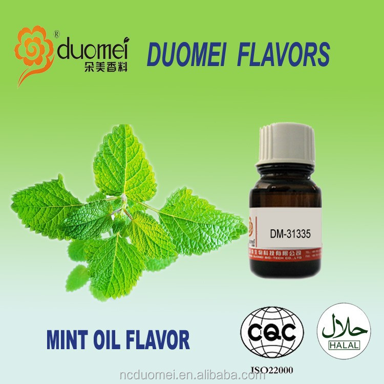 Natural mint fragrance oil flavor international food grade flavor top food bakery enhance