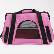 2018 Factory Price Waterproof Pink Color Pet Carrier Bag Dog Backpack