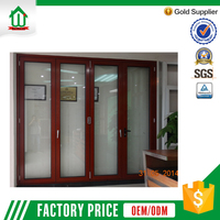 Strong 75 series cheap interior folding doors