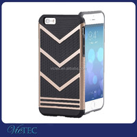 Hot Cheap Anti Shock V Shaped Armor Cell Phone Case For iPhone 4 5 6