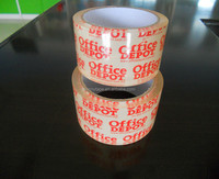 Heavy Duty Transparent 48mm*50m 6 Rolls/Shrink BOPP Sealing Tape