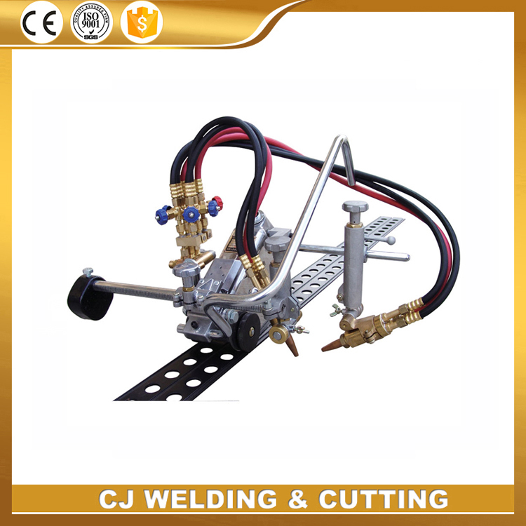 HK - 93 - II Portable straight line flame cutting machine with video