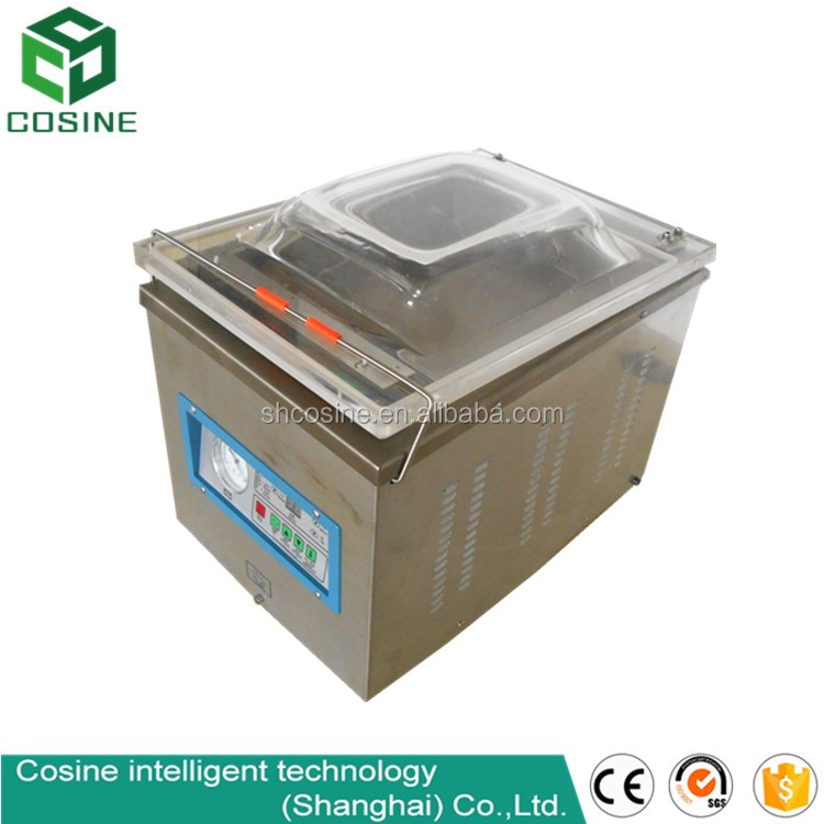 chamber type desktop vacuum packing machine for smoked fish