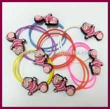 silicone rubber bands/hair circle
