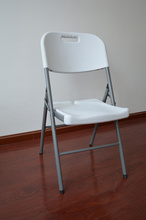 wholesale 2014 plastic folding tchair table, blow molded folding chair