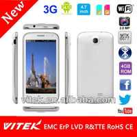 "Made in China 4.7"" 3G android mobile 4gb ram"