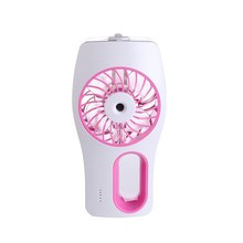 5v dc mini portable mist air conditioning fan with battery