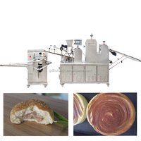 Multifunctional Bread Production Line in food machine for hamburger forming