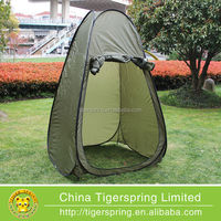 Spring steel wire pop up spray tanning tent