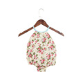 Summer hot sale boutique baby rompers infant and toddlers clothing floral rompers for baby girls