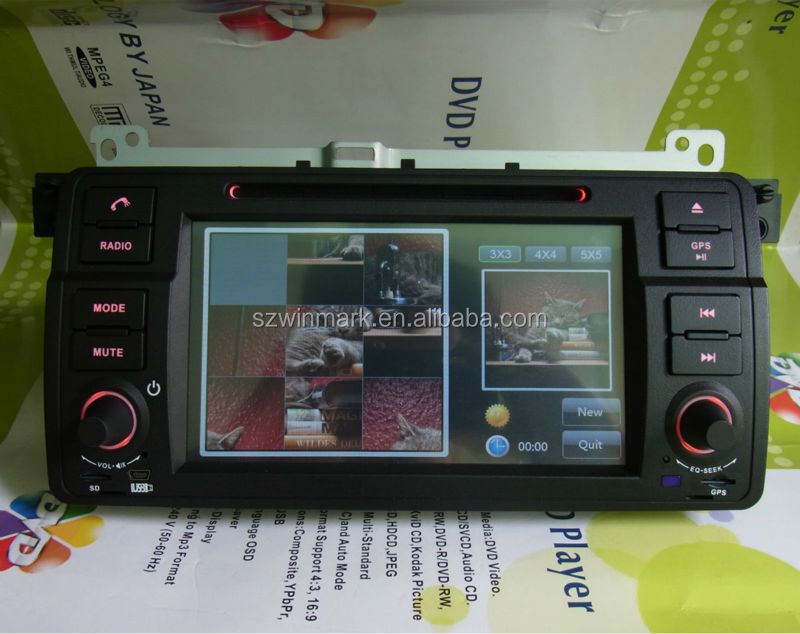 HD touch screen car radio for bmw e46/car dvd gps navigation system navigation for bmw e46 window CE 6.0 DJ7062