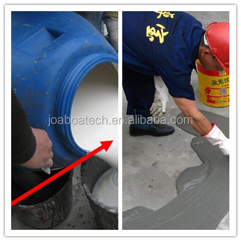 JS double component flexible cement based waterproofing material