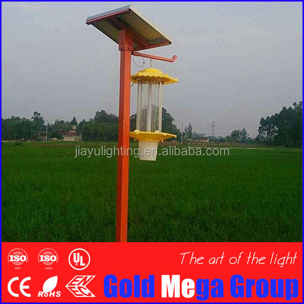 Bangladesh woth/moth/worm outdoor insect killer lamp zapper for 6acre maize/apple/grain/cereal