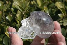 Unique Splendid Natural Quartz Clear Crystal Skull