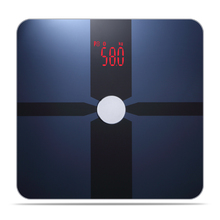 BIA technology wifi bluetooth body composition analyzer bathroom digital fat weight scale with memory